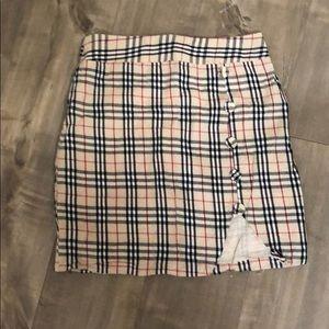 Showpo Plaid Skirt